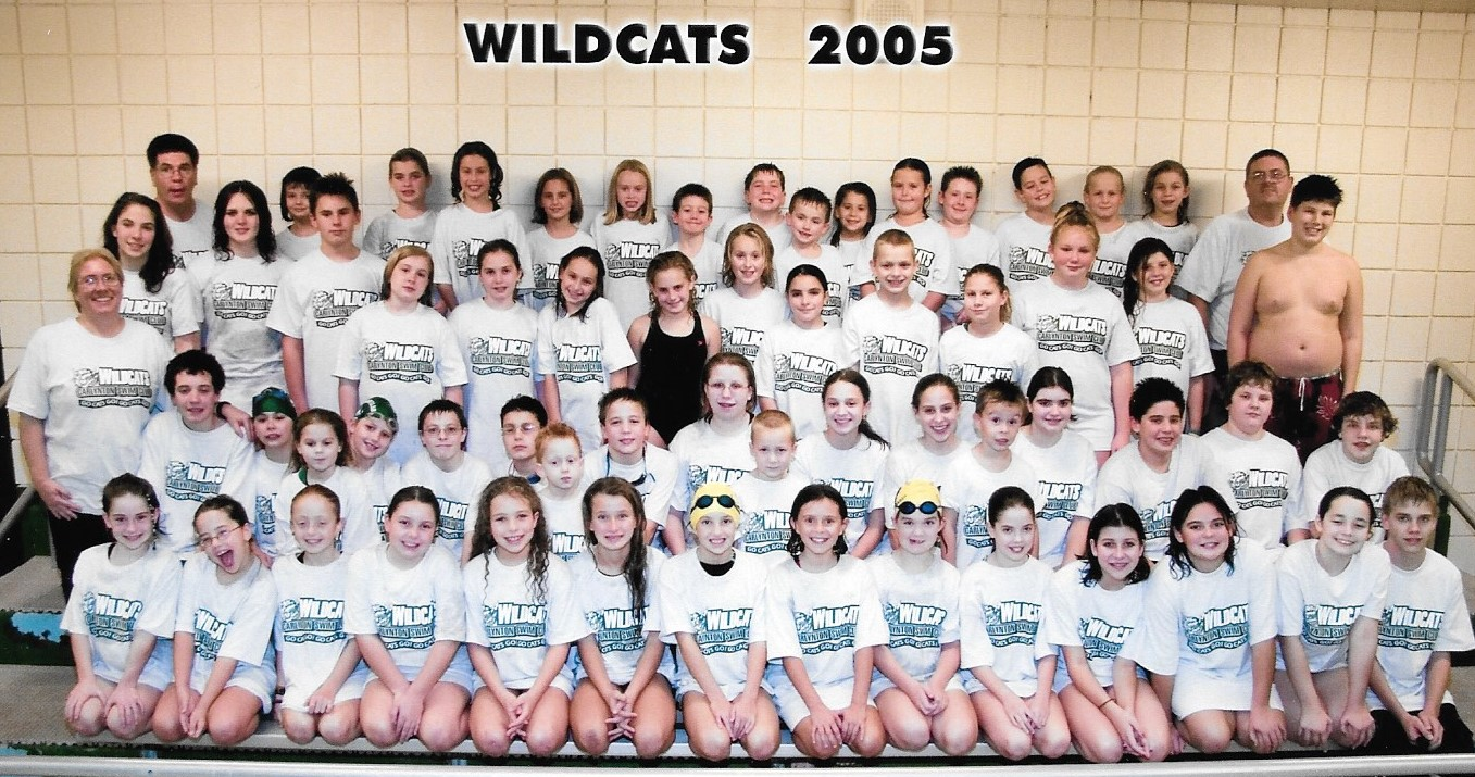Swim team group photo