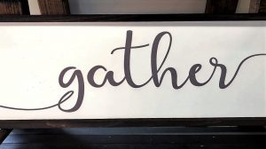 Gather sign.