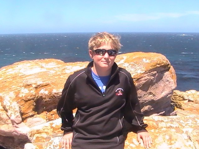 Grant at Cape of Good Hope